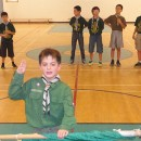 New Scouts get invested